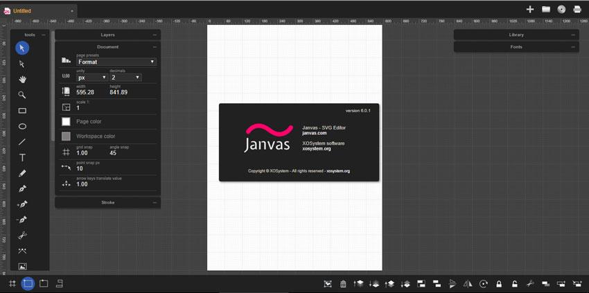 Online Vector Graphics Editor