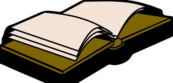 600x288 Open Book Icon Clip Art Free Vector 4vector