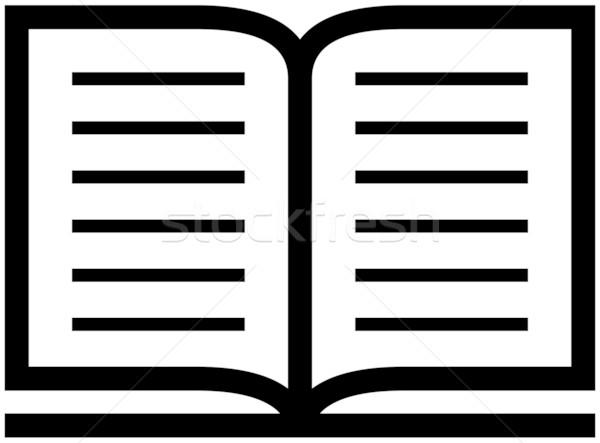 600x443 Open Book Icon