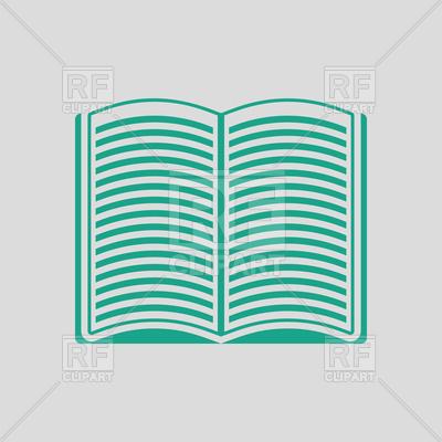 400x400 Open Book Icon Vector Image Vector Artwork Of Signs, Symbols