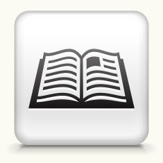 235x235 Open Book Internet Royalty Free Vector Art Vector Art Illustration