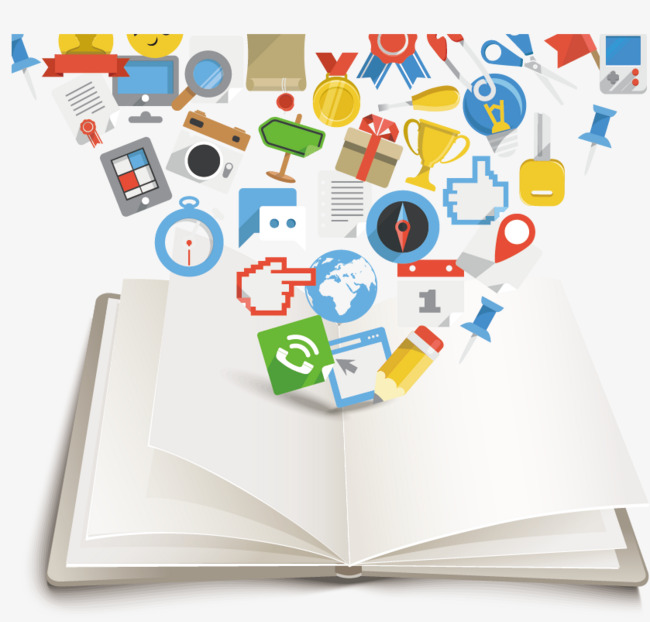 650x622 Vector Book Icon, Book Clipart, Open Book, Icon Png And Vector For