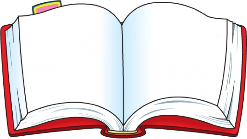 820x463 Free Open Book Vector Clip Art For About