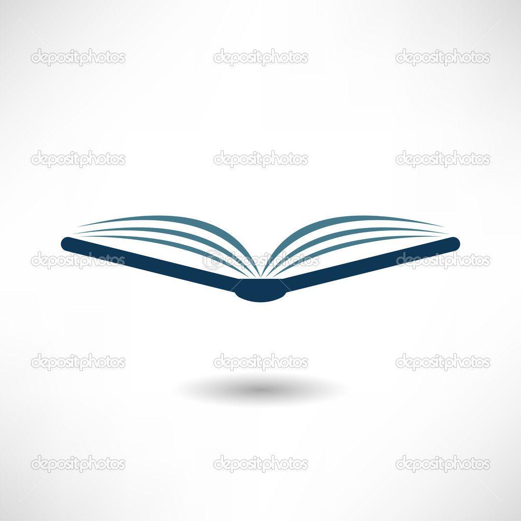 1024x1024 Open Book Icon Stock Vector Alexandrovskyi