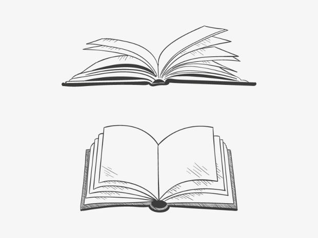 620x465 Book Vectors