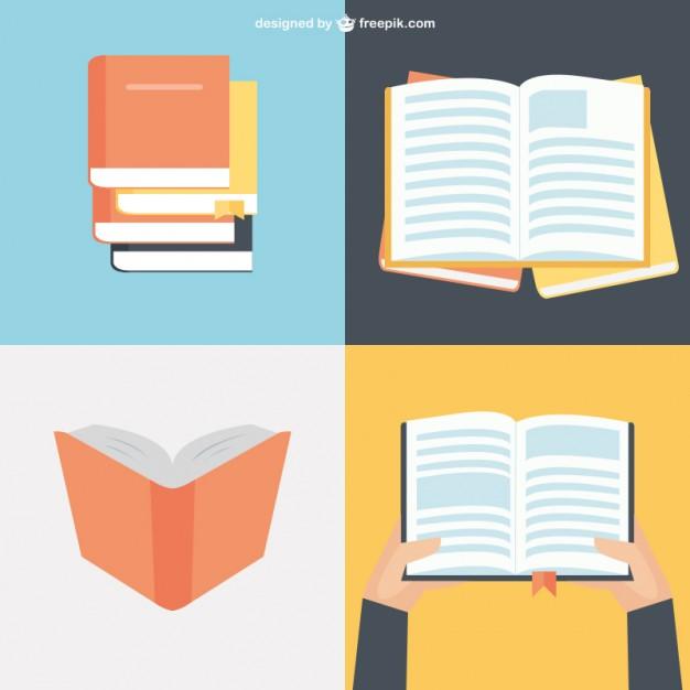 Open Book Vector Illustrator