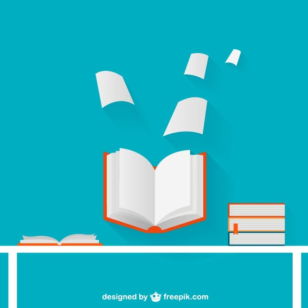 626x626 Open Book Illustration Vector Free Download