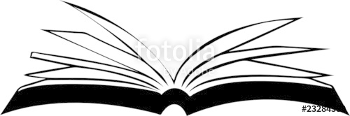 500x166 Opened Book Vector Illustration Stock Image And Royalty Free