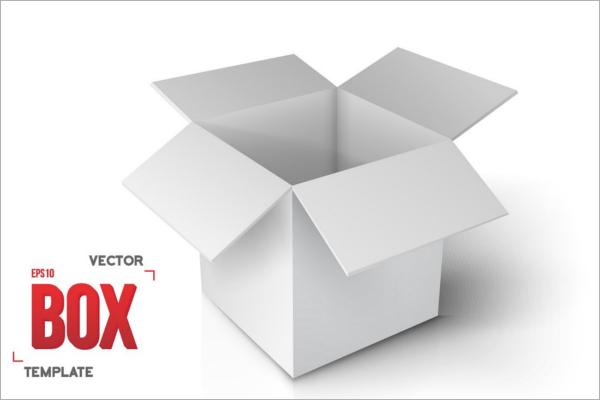 600x400 Open Box Vector Design
