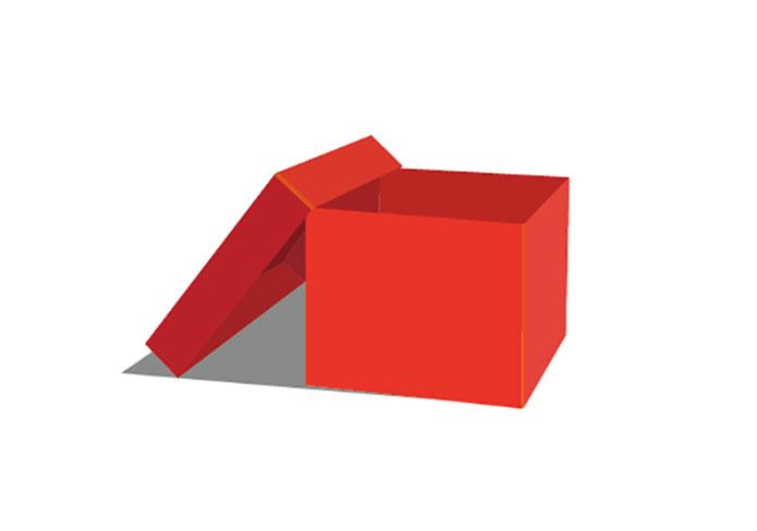 695x488 Open Box (Vector Model) Free Download Ai Files