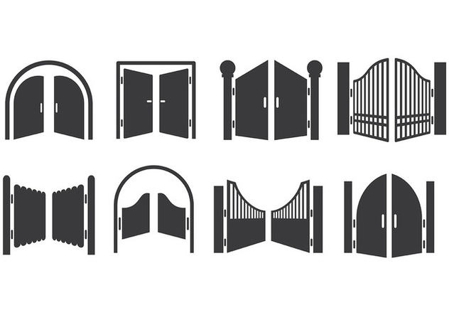 632x443 Free Open Gate Icons Vector Free Vector Download 413883 Cannypic