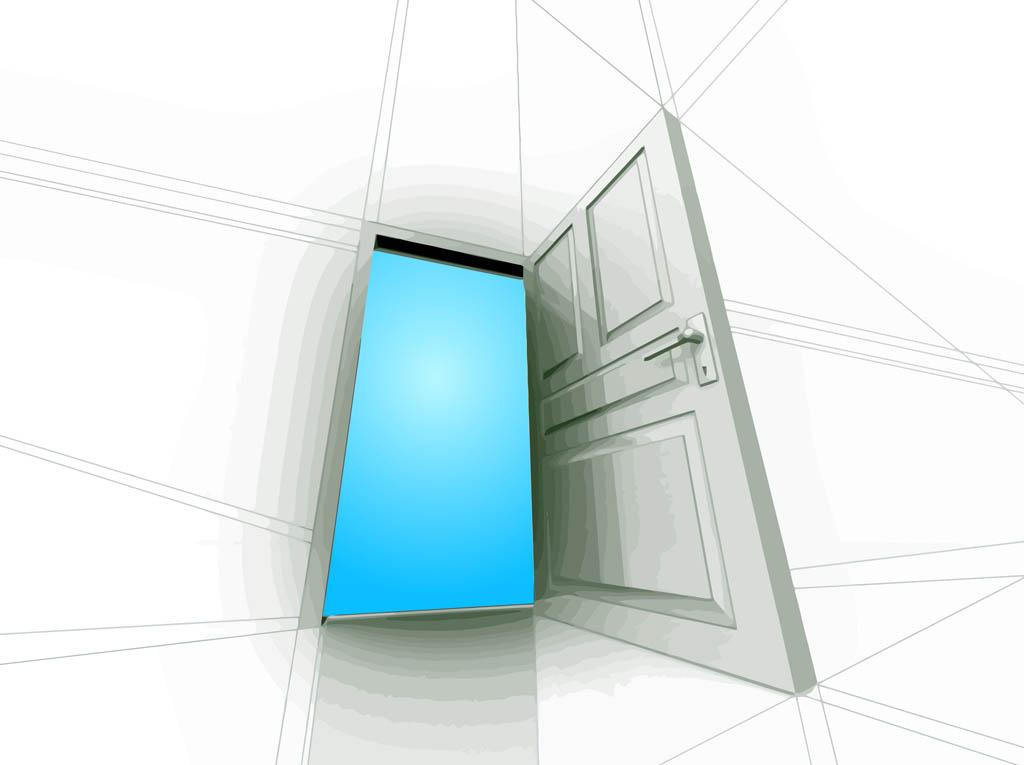 1024x765 Open Door Vector Art Amp Graphics