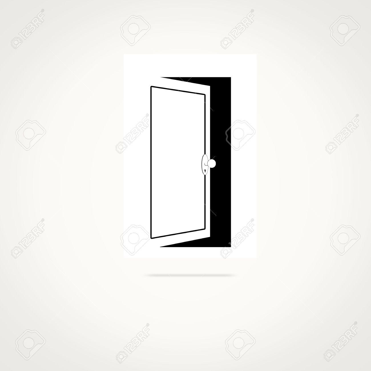 1300x1300 Uncommon Open Door Pictures Open Door Vector Images Stock Pictures