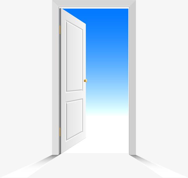 650x614 Vector Painted Open Door, Vector, Hand Painted, Open Doors Png And