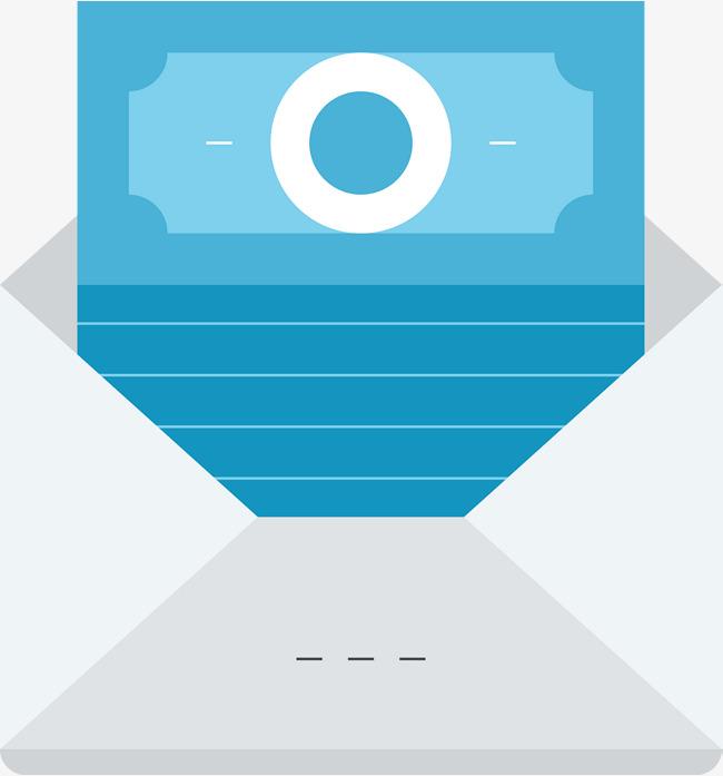 650x697 Open Envelope Vector Diagram, Blue Note, Envelope, Pocketbook Png