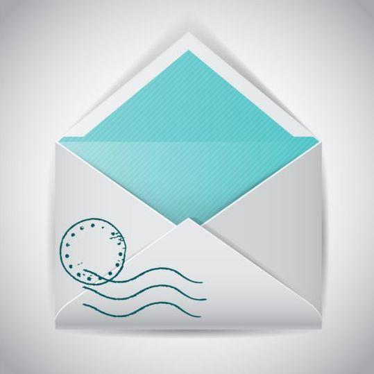539x539 Open Empty Envelope Vector Free Download