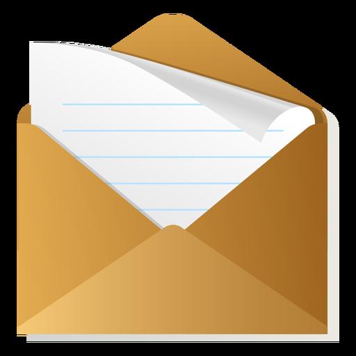 512x512 Open Envelope 3d Icon