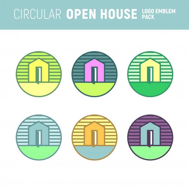 Open House Vector