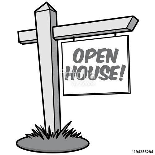 500x500 Open House Illustration