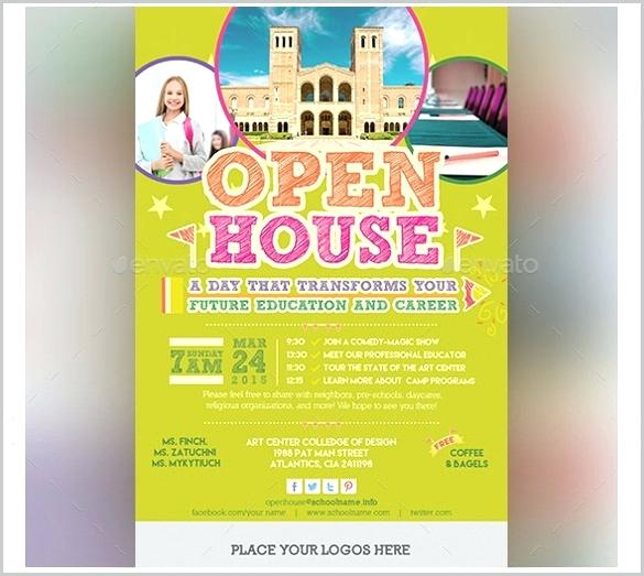 585x523 School Open House Invitation Template Free Vector Templates Word