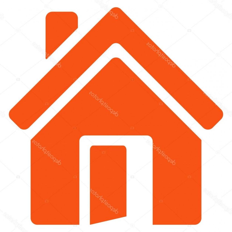 1228x1228 Stock Illustration Open House Door Flat Vector Sohadacouri