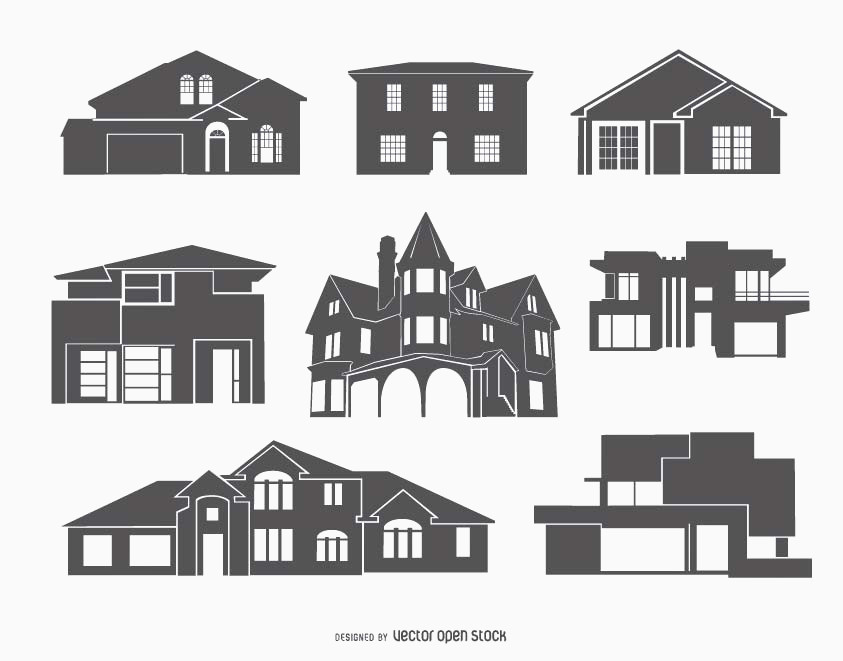 843x661 House Vector Unique House Vector Amp Graphics To Download 3axid