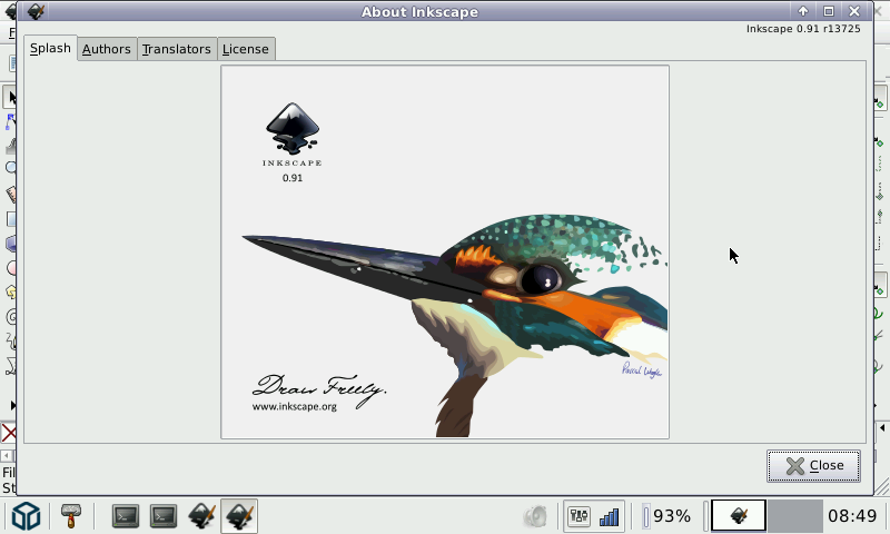800x480 Inkscape V0.91.0.01 (Pandora Application Port) Pandora Pdroms