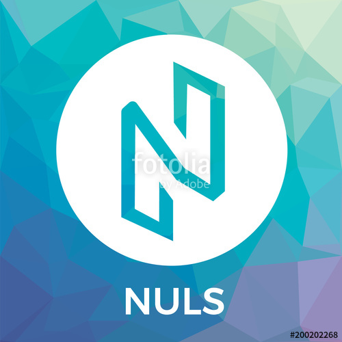 500x500 Nuls Vector Logo. Blockchain Open Source Project Nuls Which Is A