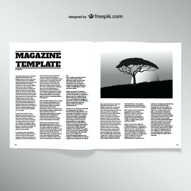 626x626 Opened Magazine Blank