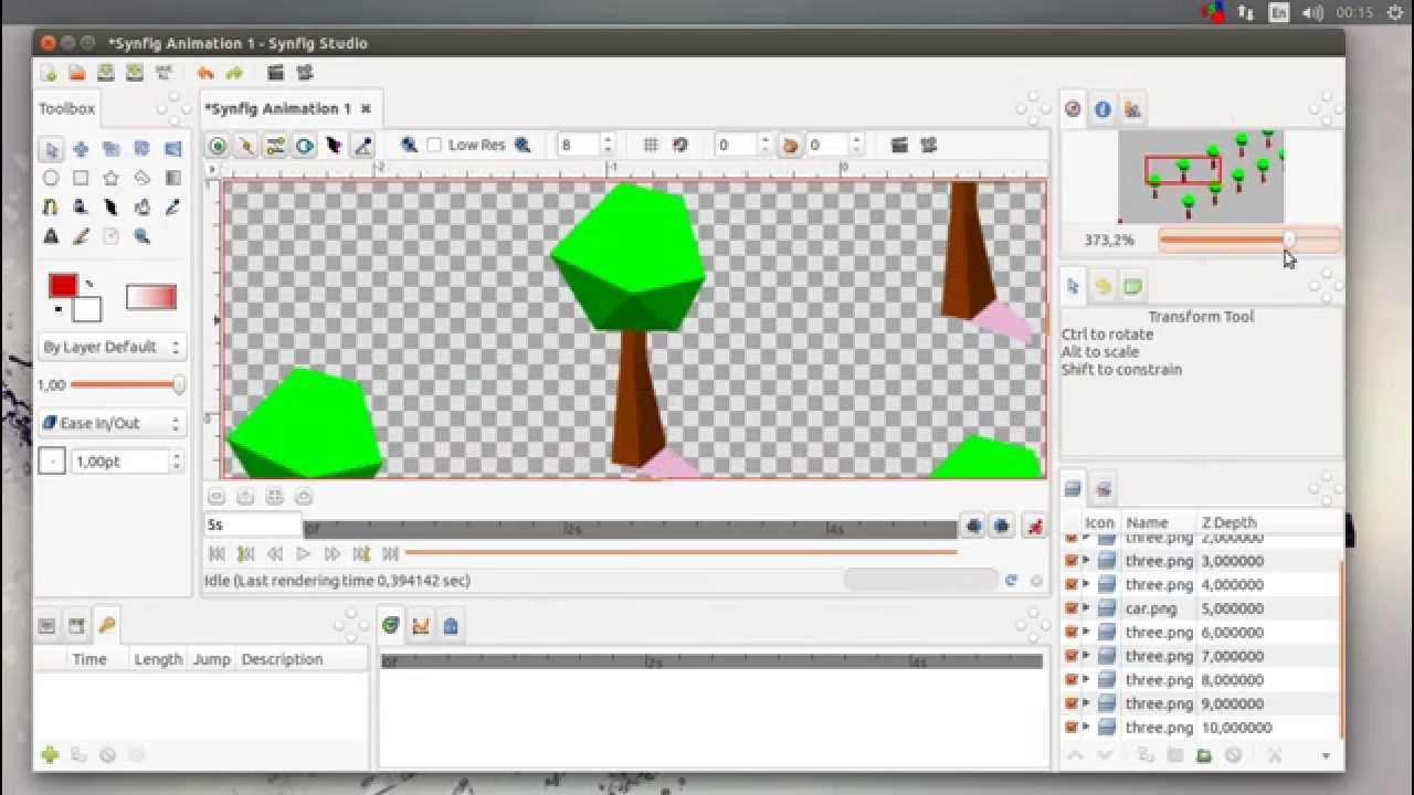 1280x720 Synfig Studio 0.65.0 Dev 2d Vector Animation Studio Single Window