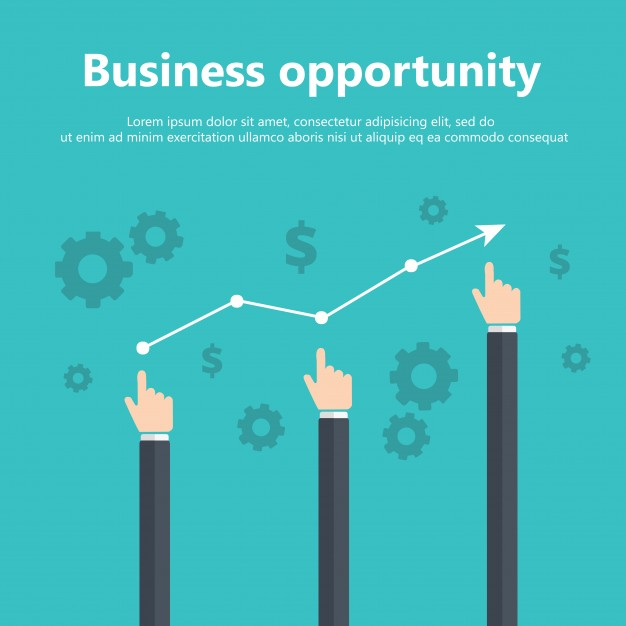 626x626 Business Opportunity Concept Vector Free Download