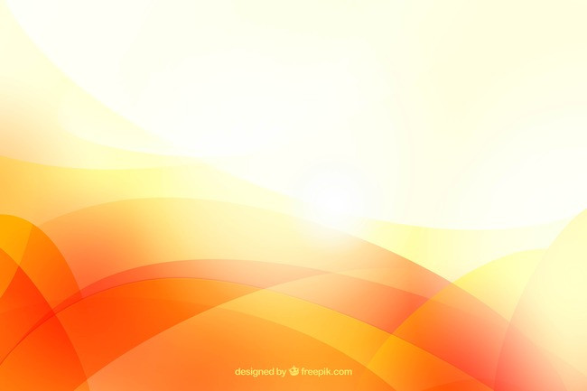 650x433 Bright Orange Abstract Background Material, Wave, Wavy, Orange