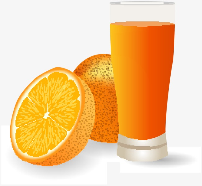 650x600 Vector Orange Juice, Orange Vector, Orange Juice, Fruit Juice Png