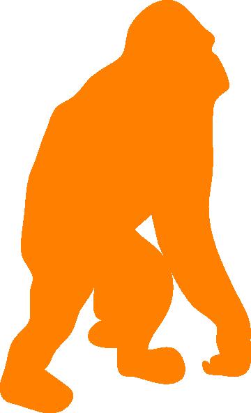 360x592 Orange Orangutan Clip Art