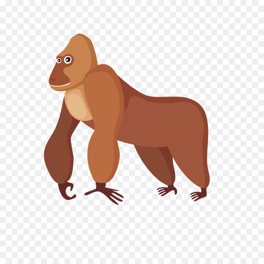 900x900 Orangutan Gorilla Ape Euclidean Vector