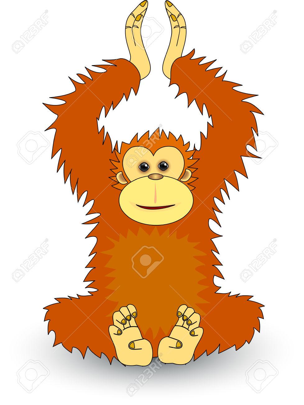 978x1300 Clipart Orangutan Collection