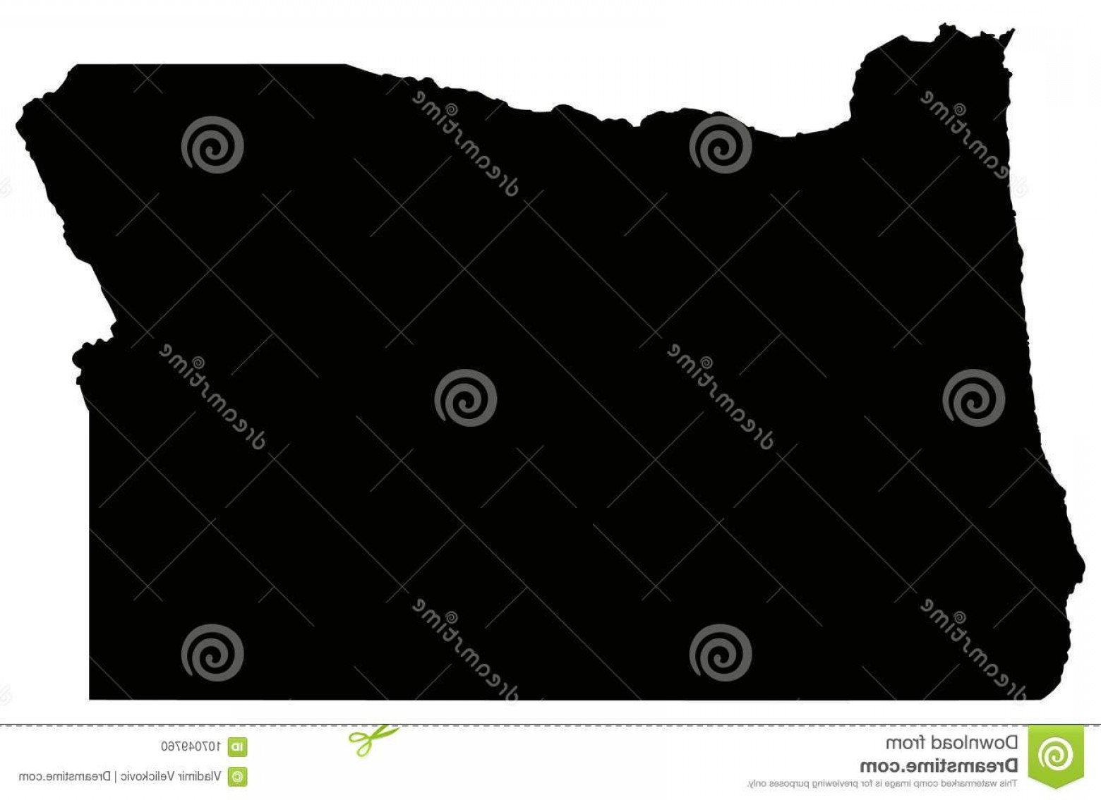 Oregon Map Vector at GetDrawings.com | Free for personal use Oregon ...