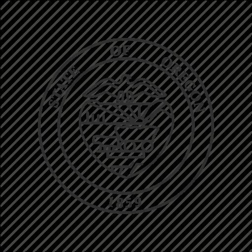 512x512 America, Oregon, Seal, State, State Seal, State Symbol, Usa Icon