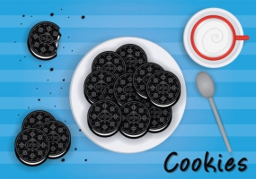 285x200 Oreo Cake Free Vector Graphic Art Free Download (Found 1,977 Files