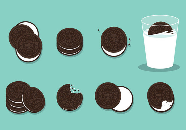 632x443 Free Oreo Cookies Vector Free Vector Download 397463 Cannypic