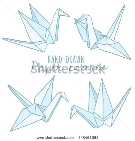 450x470 Paper Crane Origami Origami Crane Stock Images Royalty Free Images
