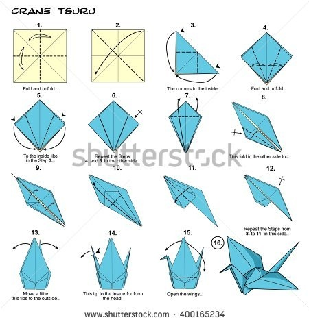 450x470 Easy Origami Cranes Inspirational Origami Crane Stock Royalty Free