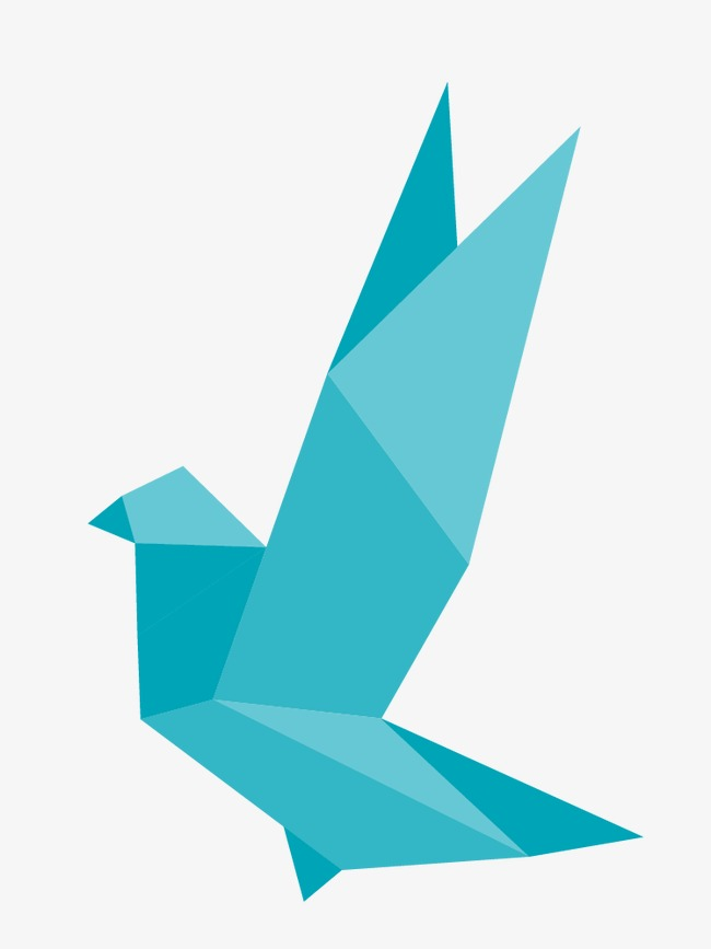 650x867 Origami Birds Vector, Bird, Origami, Birds Png And Vector For Free