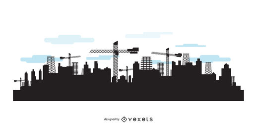 518x260 Skyline Vector Graphics City Skylines)
