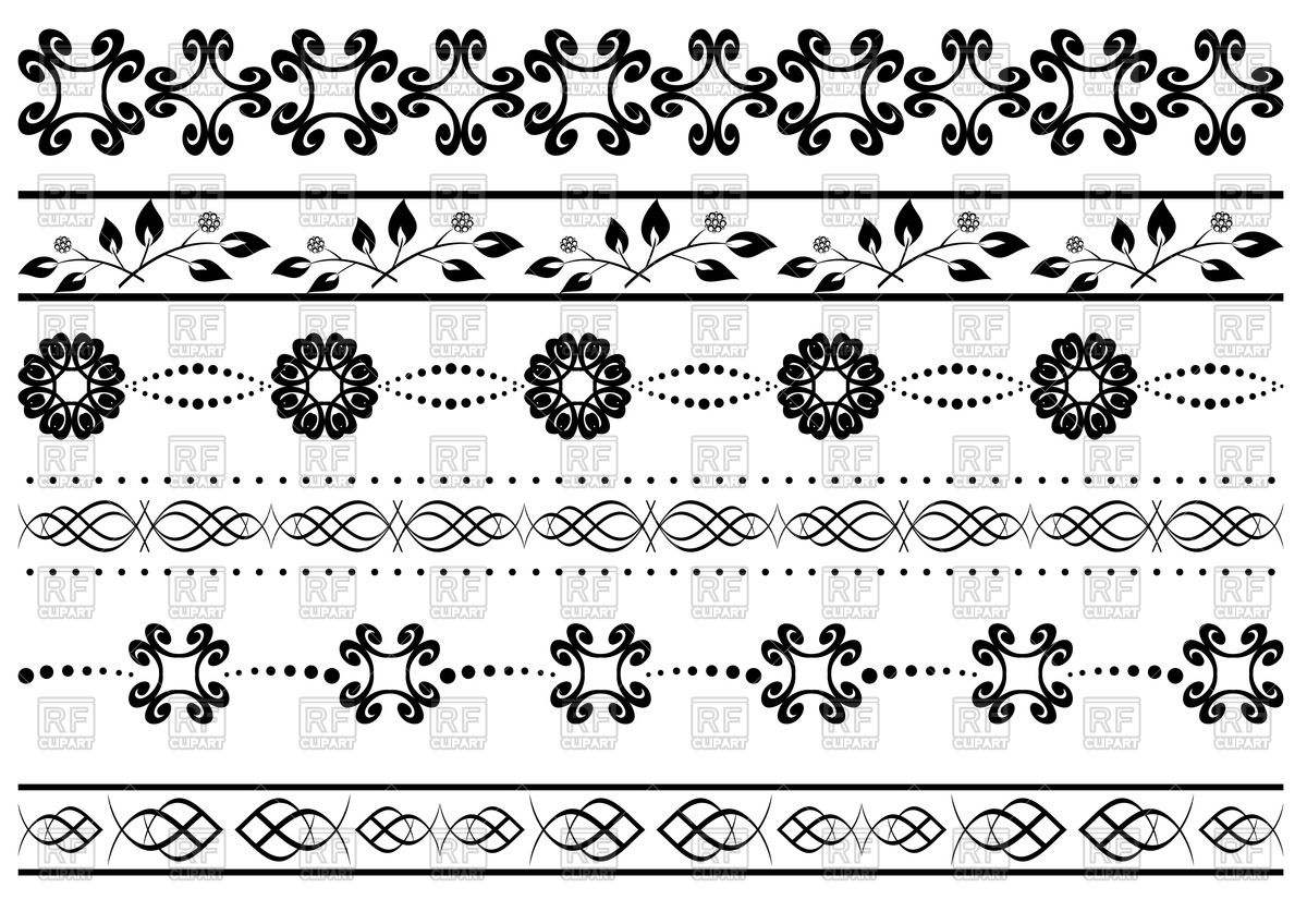 1200x848 Floral Ornamental Borders Vector Image Vector Artwork Of Borders