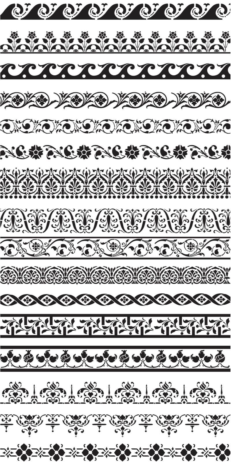 800x1600 Ornament Borders Vector Vector Graphics Amp Vector Illustrations