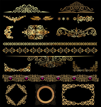 350x368 Ornamental Border Free Vector Download (17,127 Free Vector) For