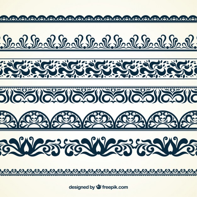 626x626 Ornamental Borders Vector Free Download