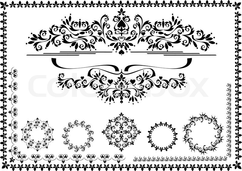 800x565 Border Ornaments