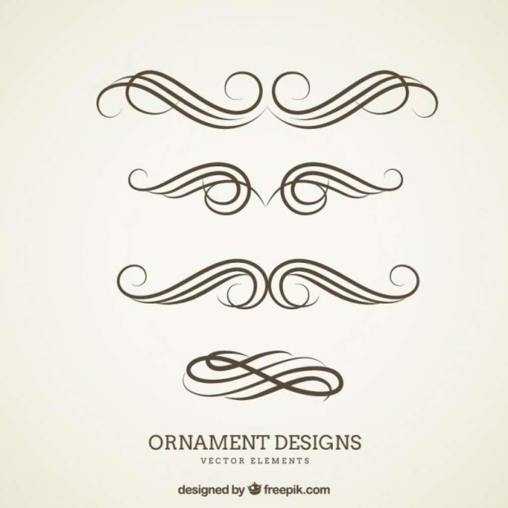 1024x1024 Ornament Border Vector Free Download Beautiful Ornament Designs